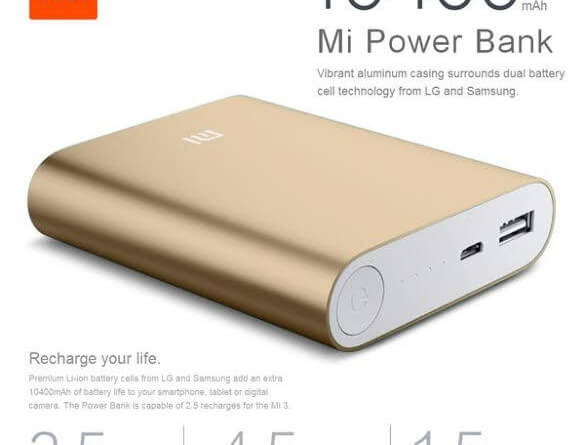 Xiaomi MI power bank 10400 mAh flash sale