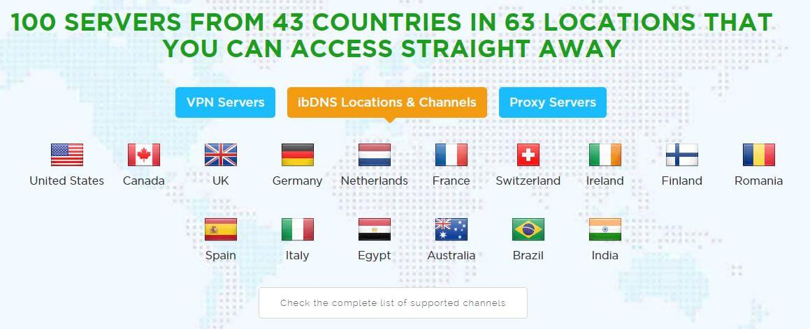 ib vpn review dns locations
