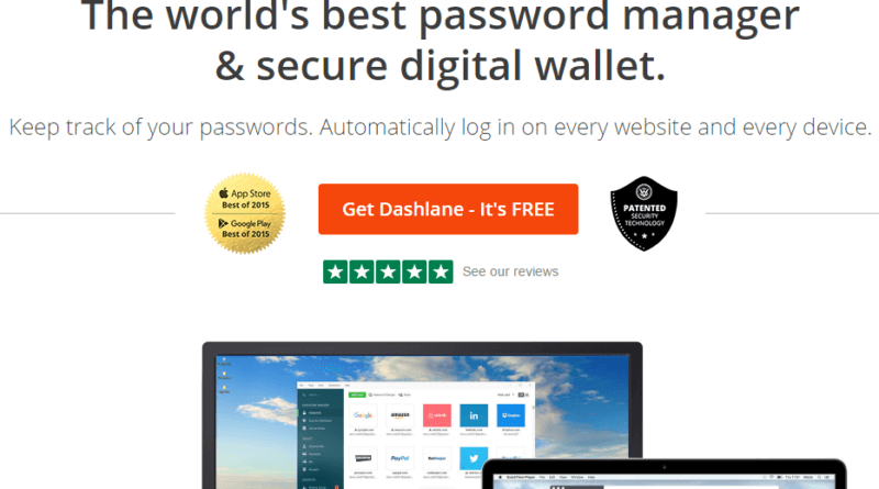 Dashlane Review World's Best Password Manager