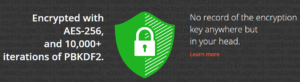 Dashlane Security features
