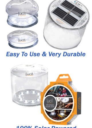 Luci Survival Solar Air Lantern Review