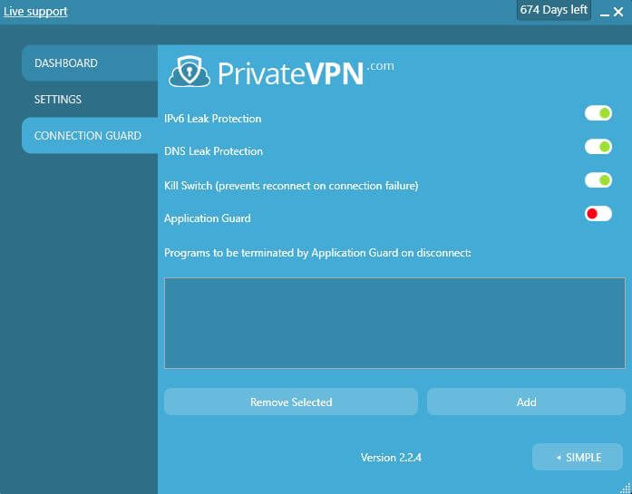Private VPN review software